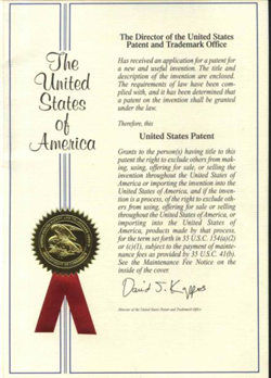 Prosruge UL Patent for Surge Protection device