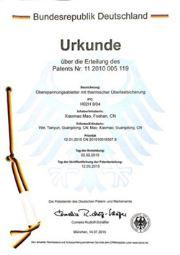 Prosurge's German Patent of Surge Protective Device