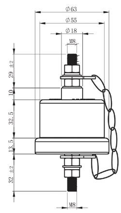 SPD-para-linha aérea-dimensão-drawin-g_250 × 438
