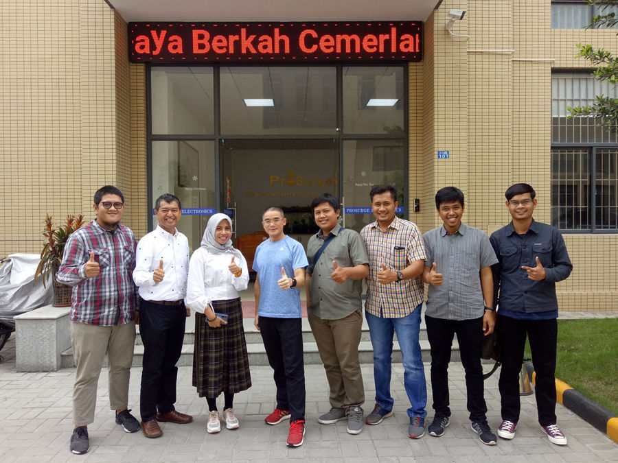 Indonesia Customer Visits Prosurge for Surge Protection Business