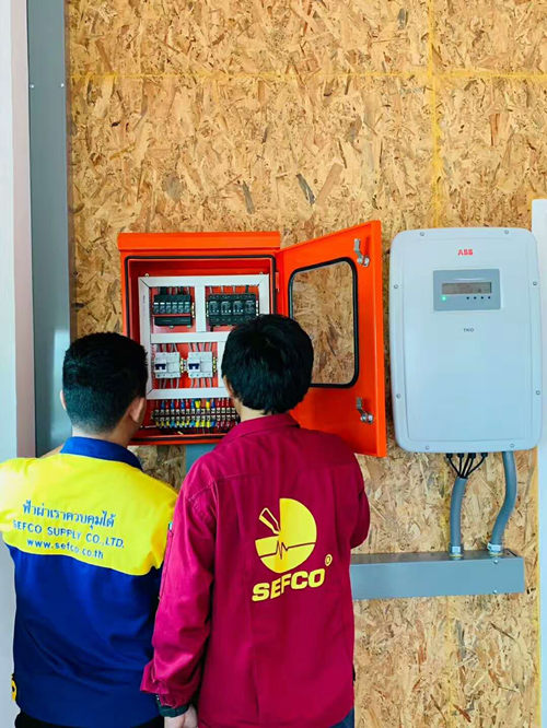 Solar Surge Protection Project in Thailand-Prosurge-500