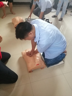 First Aid Training at Prosurge
