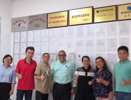 I clienti del Guatemala visitano Prosurge