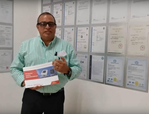 Video Customer Testimonial of Prosurge and Its Surge Protection Device From Guatemala Customer