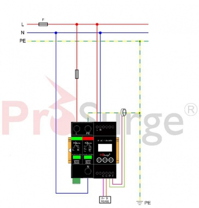 iSPD-AT-Single phase wiring (TT,TN)