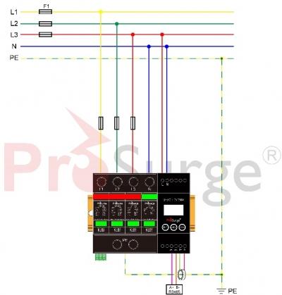 iSPD-AT-Three phase wiring (TT,TN)